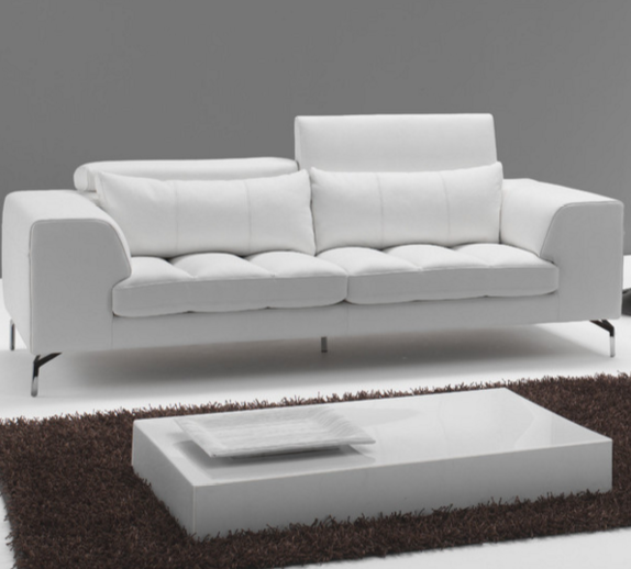7 Beautiful White Leather Sofas For Your Living Room Cute Furniture Uk