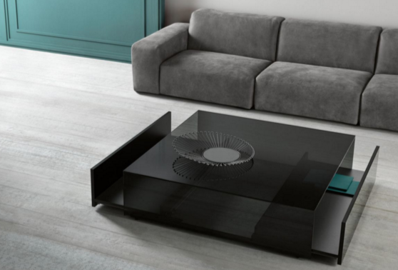 Cuvillo Luxurious Glasss Top Coffee Table