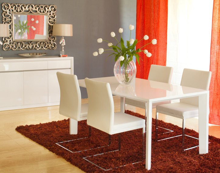 7 Beautiful White Rectangular Table Sets For Everyday Use