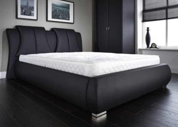Black Kingsize Bed Frame