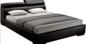 Black Modern Kingsize Bed Frame