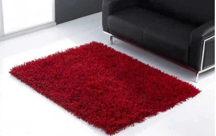 7 Red Shaggy Area Rugs For A Modern Living Room Cute