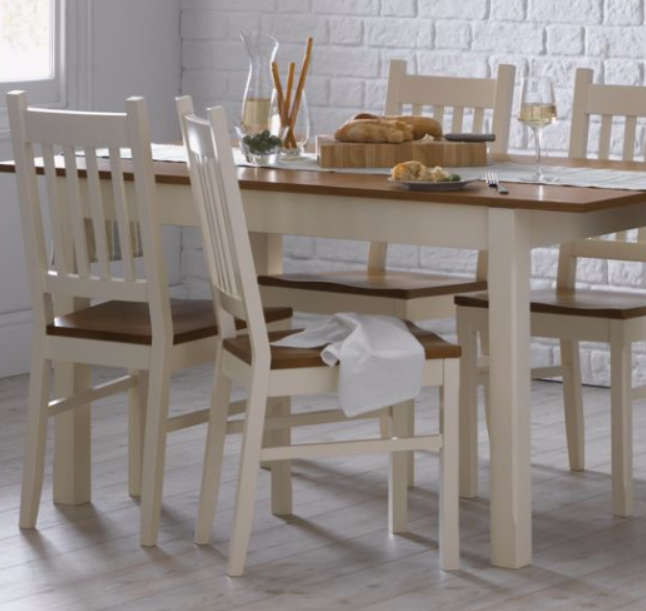 7 Beautiful White Rectangular Table Sets For Everyday Use Cute Furniture UK