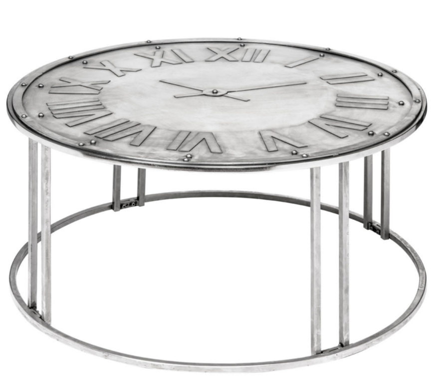 Table Round Industrial Coffee Table Gratifying Ballard: 8 Beautiful Industrial Coffee Tables
