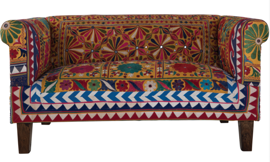 6 Traditional And Small Multi Color Sofas