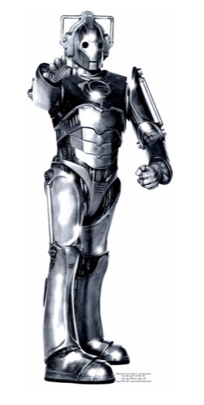 Doctor Who Cyberman Life-Sized Cutout