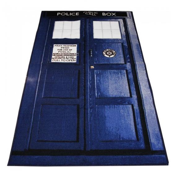 Large TARDIS Rug