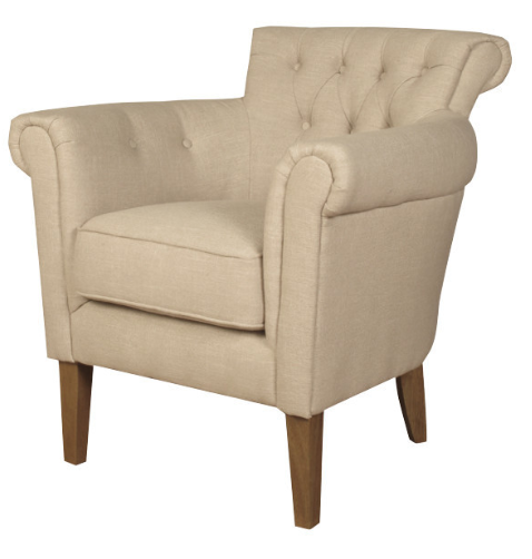 6 elegant occasional cream armchairs for your home cute for Furniture kidderminster