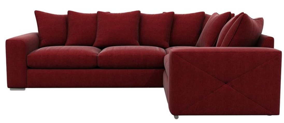 Red corner sofa red corner sofa in neath port talbot for Red corner sofa
