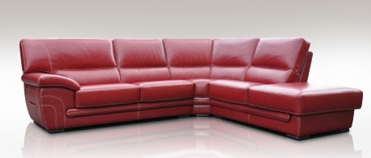 7 Beautiful Red Corner Sofas For Your Living Room Cute