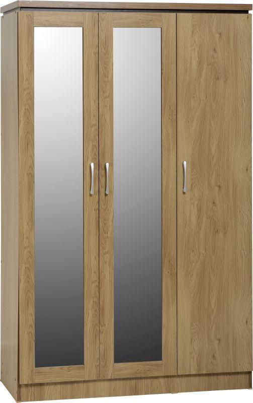 5005469-whw141oak_charles_3_door_all_hanging_wardrobe_01