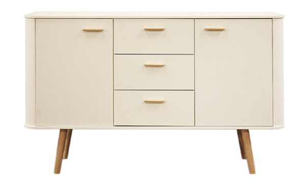 white-retro-sideboard