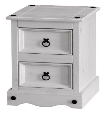 corona-white-wash-two-drawer-bedside-cabinet