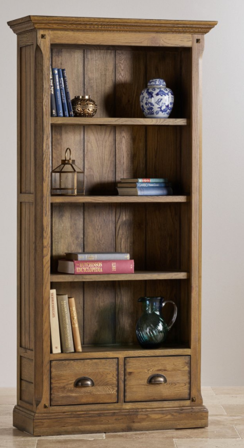 manor-house-tall-bookcase-in-solid-oak