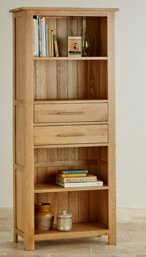 rivermead-natural-solid-oak-bookcase