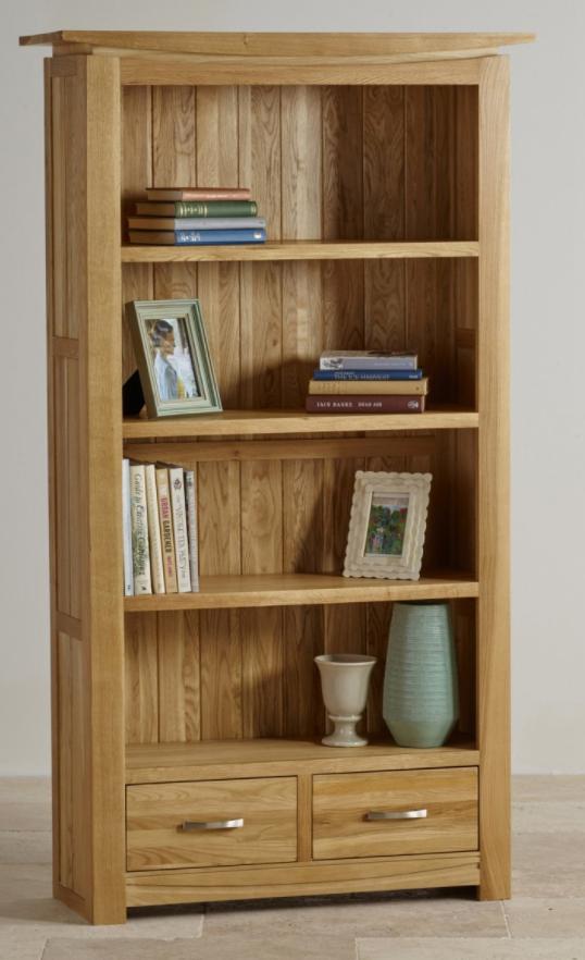 tokyo-natural-solid-oak-bookcase