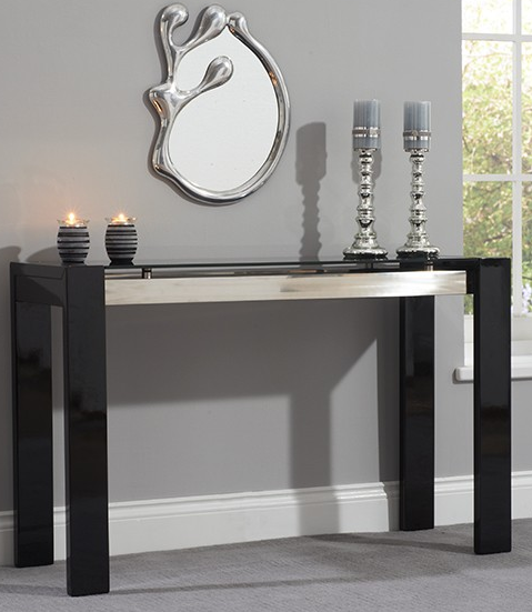 canberra-black-high-gloss-console-table