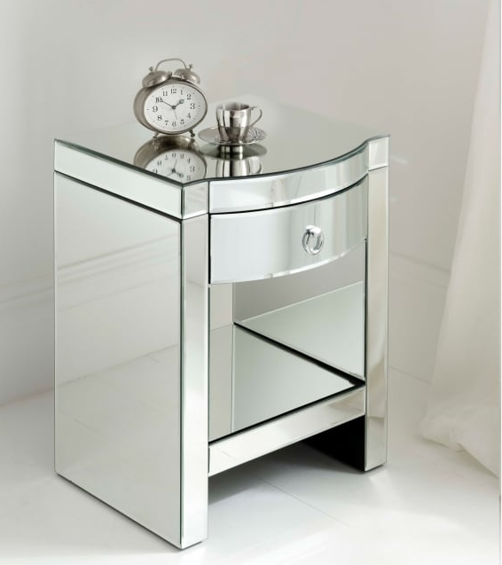 mirrored bedside furniture. Florence-mirrored-bedside Mirrored Bedside Furniture