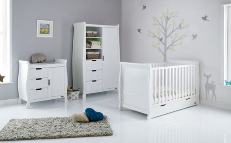 Top 5 White Nursery Furniture Sets