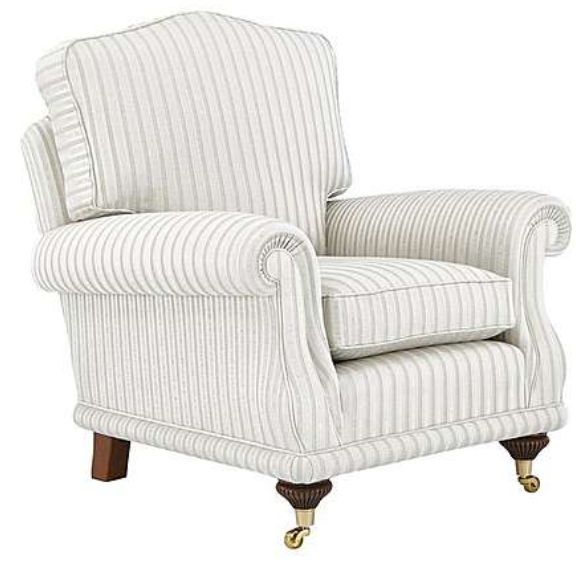 Peachy Top 7 Striped Armchairs For An Elegant Living Room Cute Home Interior And Landscaping Dextoversignezvosmurscom