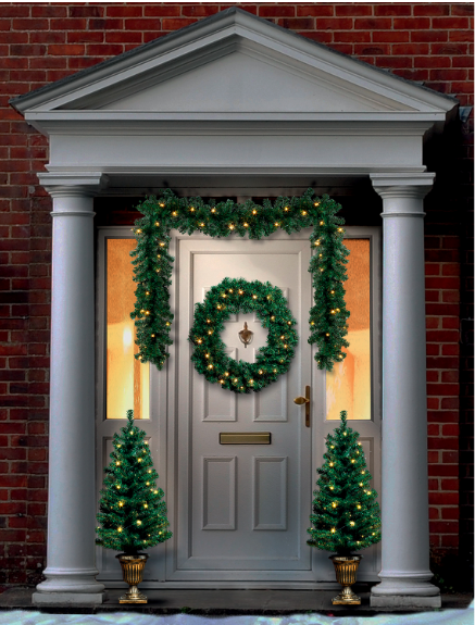 christmas-pre-lit-tree-door-set