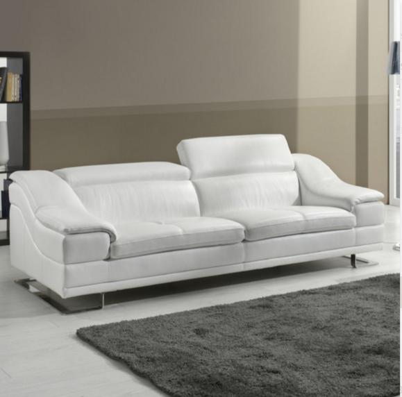 White Leather Sofas Uk Sofa Menzilperde Net