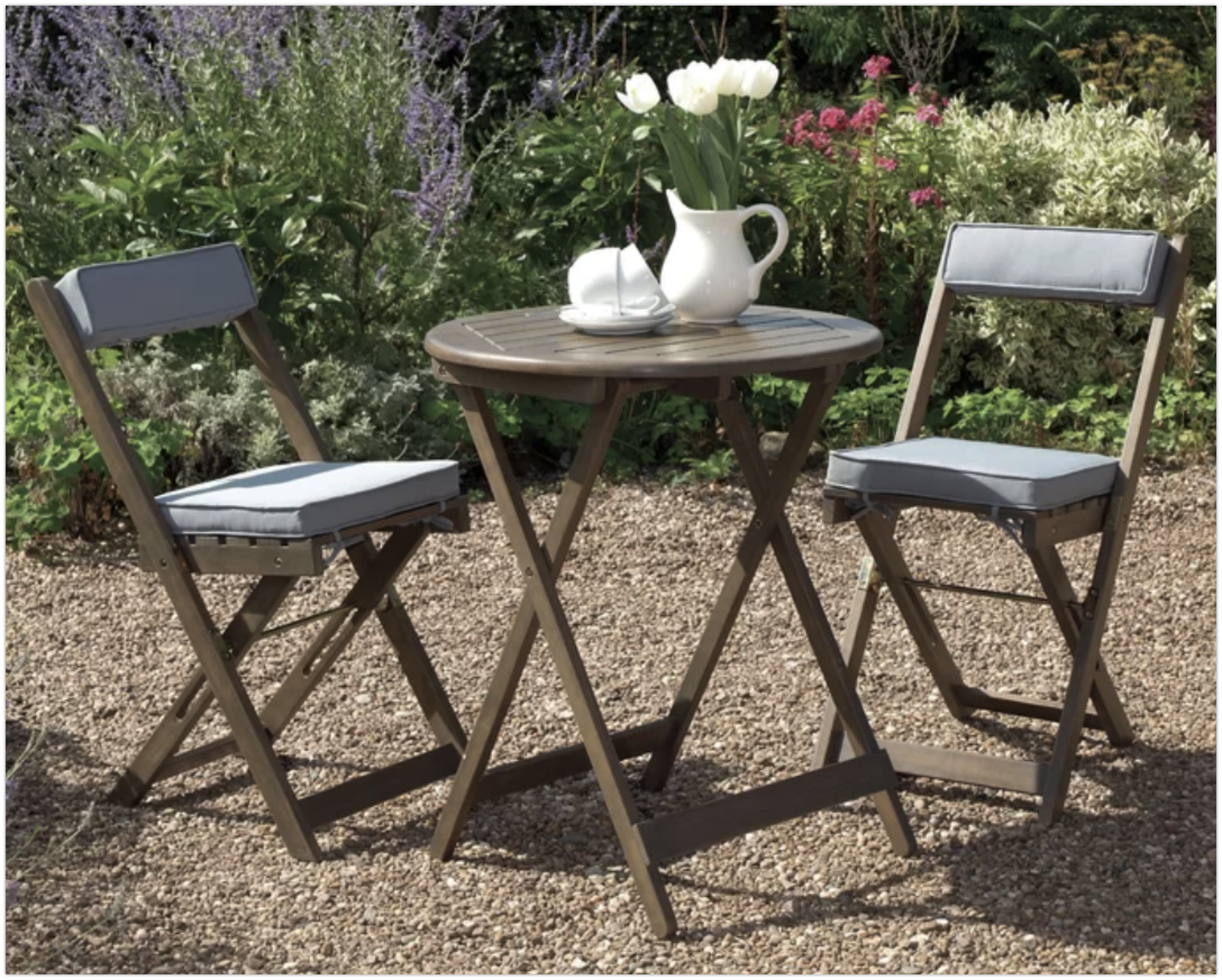 6 Beautiful 2 Seater Bistro Sets For A